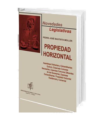 Bautista Moller Pedro Jose Novedades Legislativas Propiedad horizontal