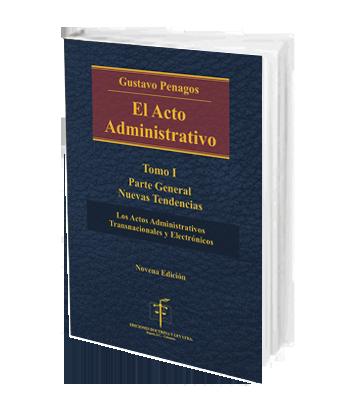 Penagos gustavo el acto administrativo tomo 1