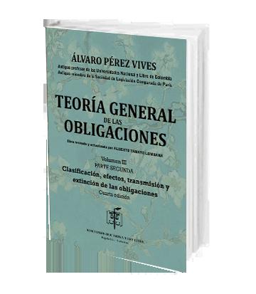 Perez Vives Alvaro Teoria Gral Obligaciones Vol III