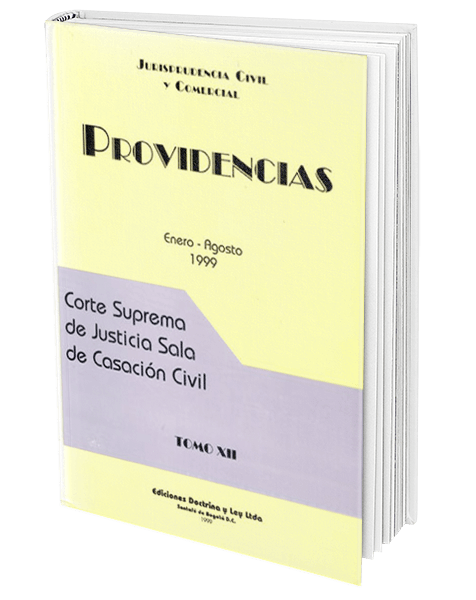 providencias-enero---agosto-1999-tomo-xii