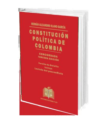 OLANO GARCIA HERNAN ALEJANDRO CONSTITUCION POLITICA DE COLOMBIA