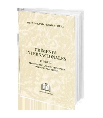 Crimenes internacionales t III